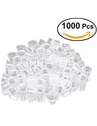 ROSENICE Tattoo Caps 13mm 1000pcs Jetable Fournitures de tatouage Eyelash Makeup Eyebrow Tattooing Pigment Container Taille M
