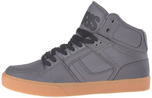 Osiris NYC 83 Vulc Shoes - Dark Grey / Gum Gris