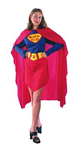 Imagen de el carnaval disfraz superwoman adulto