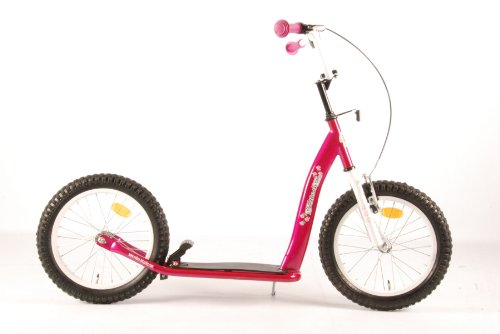 16 Zoll Volare Sport Scooter Pink Roller Retro Glanz