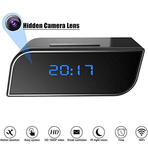 Konesky Reloj Oculto de la cámara de WiFi, cámara espía 1080P con la cámara de vigilancia en Tiempo Real de la detección de Movimiento para el Monitor del bebé de la Seguridad en el hogar
