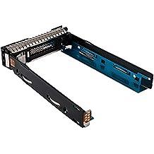 """SHiZAK nueva versión actualizada 3,5""""SFF SAS HDD Bandeja de disco duro Caddy para HP ProLiant G8G9Gen 9Gen8aplicables a todos los años de servidor, Compatible con parte # 651687–001(Nota: sólo Fit para 3,5"""" SFF) Rev 010"""