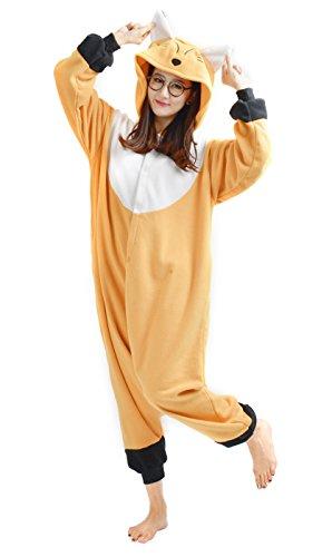 Imagen de dato ropa de dormir pijama zorro cosplay disfraz animal unisexo adulto
