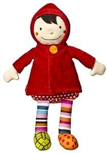 Poupée de chiffon - T'es fou Louloup - Le petit chaperon rouge : 33 cm