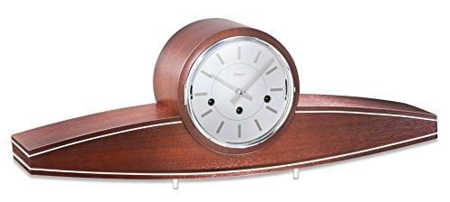 Hochwertige mechanische Tischuhr mit Schlüsselaufzug Kieninger 1281-23-01