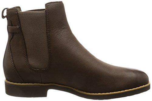 Rockport Damen Alanda Gore Chelsea Boots Braun (STONE NBK)