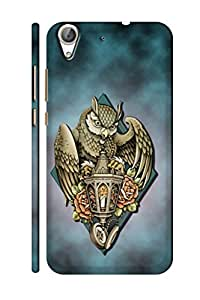 AMAN Owls 3D Back Cover for Honor 5A