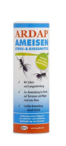 Quiko lutte contre fourmis, Ardap fourmis Litière et GIES Mittel 250 g blanc