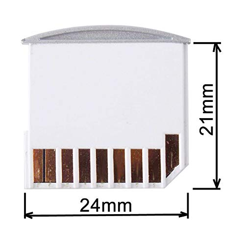 CY White Micro SD TF Adapter SD Card Kit Mini Adapter for Extra Storage Mac book Air / Pro / Retina 20mm approximately