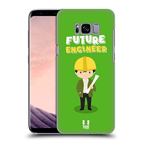 Head Case Designs Ingenieur Kinder Von Morgen Ruckseite Hülle für Samsung Galaxy S8