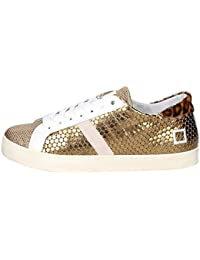 Date Chaussures D.a.t.e. TENDER LOW-37 Petite Sneakers Femme Rouge Date soldes