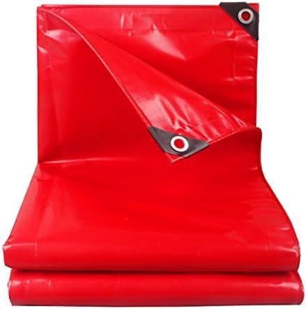 LIYFF- LIYFF- LIYFF- Telo Impermeabile Multiuso Telo Resistente Telo coprimoto Copertura per Tetto Auto Tenda da Campeggio Tenda da Campeggio (Rossa) (Dimensioni   2MX2M)   Materiali Di Prima Scelta    Ottima selezione  c00075