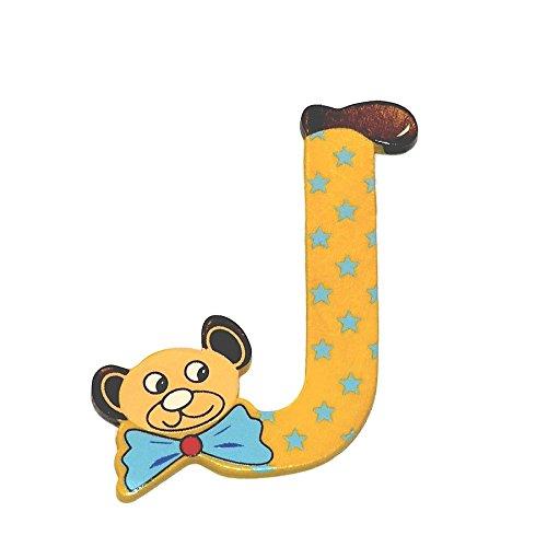Legler 2020587 – Apprendre À Lire Et À Écrire – Lettres Tête Du De L'ours – Lettre: J