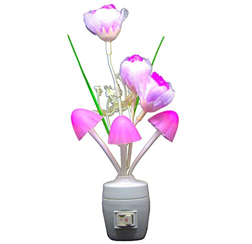 Citra night light Multi-Color Changing LED Bulbs Lamp decoration flower festival