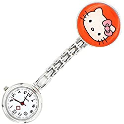 Meta-U Cat Pocket Watch-Orange
