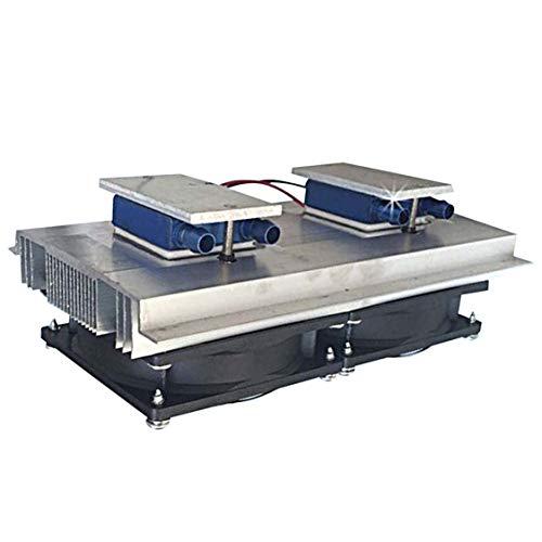 Vige XD-2041 DC12V 80W Aquarium-kaltes Wasser-Kühler-Maschinen-Abkühlungs-Halbleiter-Abkühlen thermoelektrischer Peltier-Kühler - Schwarz