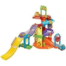 Tut Tut Bólidos - Aparcamiento con coche, juguete con sonido (VTech 3480-152722)