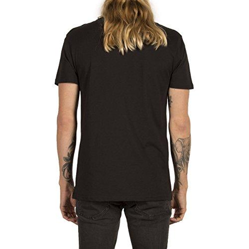 Volcom Herren Oberteile / T-Shirt Line Euro Basic Black