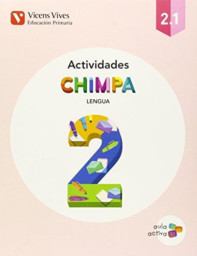 Chimpa 2 lengua castellana actividades libro 1, 2 y 3 aula activa