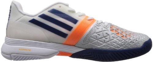 adidas ClimaCool Adizero Feather III Homme Chaussures de Tennis, blanc Clegre/Ngtblu/Solzes