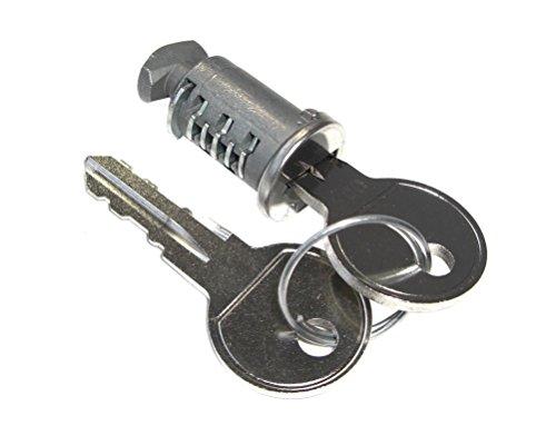 Cadenas avec clé pour porte-vélos pour crochet de remorquage Peruz.