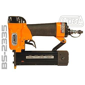 Cloueuse pneumatique clavesa bs-2335pour pin et Brad jusqu'à 35mm