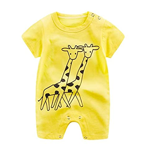 Baby Clothes Newborn Infant Boy Girl Cartoon Romper Cute Jumpsuit
