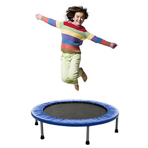FastDirect Trampolin Jumper zusammenklappbar Family Fitness Gartentrampolin belastbar bis 133kg