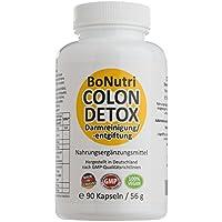 Preisvergleich für BoNutri Colon Detox Darmreiniger Qualität aus Deutschland Darmreinigung Darmsanierung Cleanse 90 vegane Kapseln...