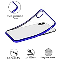 ‏‪For iPhone XS Max 6.5inch Luxury Ultra Slim Silicone Clear Case Cover‬‏
