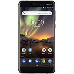 Nokia 6.1 Smartphone Débloqué 4G (Ecran : 5,5 pouces - 32Go ROM - 3Go RAM - Dual-Nano SIM) Noir [Version Française]