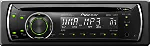 Pioneer DEH-1120MP Autoradio CD/DVD Noir