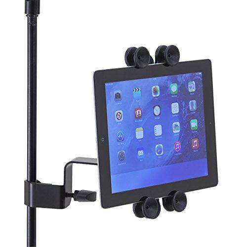 supporti per tablet Tabstand-200 Supporto Universale Per Tablet/iPad Con Aggancio Per Asta Microfono o Leggio