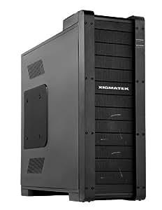 Xigmatek Elysium Big-Tower PC-Gehäuse schwarz