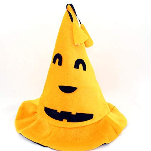 Beito Halloween-Maskerade-Partei-Kürbis-Hut Unisex-Halloween-Kostüm-Kürbis-Hut-Halloween-Kostüm-Stützen 1pc