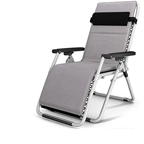 L&J Tragbare Sonnenliege,Stabile Chaise Lounges Pool Liegestühle Laden 200kg Für Terrasse Büro Strand Freibad - Terrasse Für Chaise Die Lounge