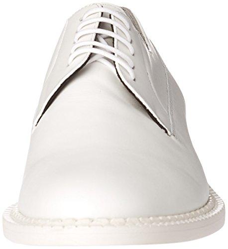 Robert Clergerie Joc, Chaussures Lacées Femme Blanc (Blanc 41)