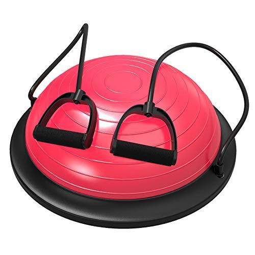 KSIHT Yoga-Balance-Ball Halbkreisförmige Hemisphäre Wave Speed   Ball Halbkreis Balance Ball Fitness Ball Yoga Pilates Ball (Stability Ball Chair)