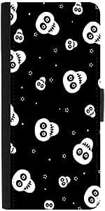 Snoogg Skull Pattern 2437 Designer Protective Phone Flip Case Cover For Phicomm Energy 653 4G