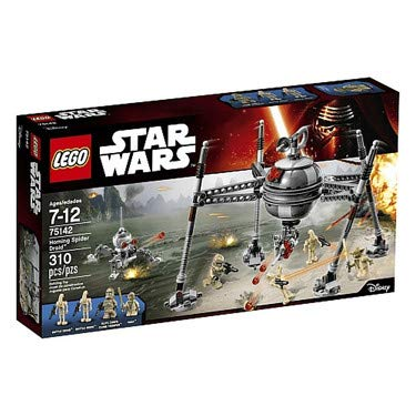 LEGO Star Wars 75142 - Homing Spider - Star Klone Wars Minifiguren Lego