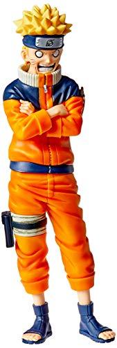 Bandai- Grandista Shinobi Relations Estatua Uzumaki Naruto, Multicolor