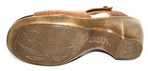 Naot, Scarpe con cinturino alla caviglia donna marrone (Cognac)