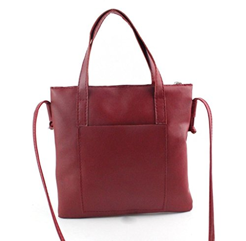 Tongshi Bolso de las mujeres de moda bolso de hombro Bolso grande de las señoras del totalizador