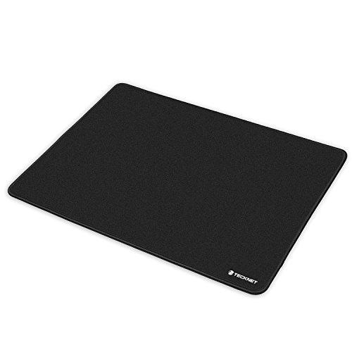 Tappetino per mouse, tecknet gaming mouse pad xl (450x330x3mm) tappetino mouse da gioco con antiscivolo base di gomma, superficie di speciale trattato tessuto, bordi rinforzati