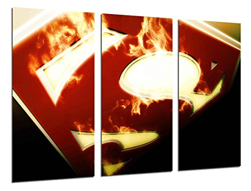 Poster Moderno Fotografico Superheroe, Superman, 97 x 62 cm, ref. PST26298
