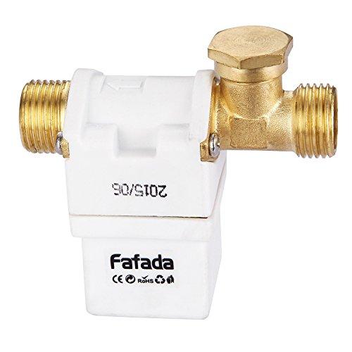 """Fafada N/C 12V DC 1/2"""" Elektro Magnetventil Ventil für Wasser Luft Gas"""