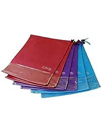 Set da 6 sacchetti porta scarpe da Viaggio di Travel Gadgeteer. Adatti a  tutti I 8d544925e89
