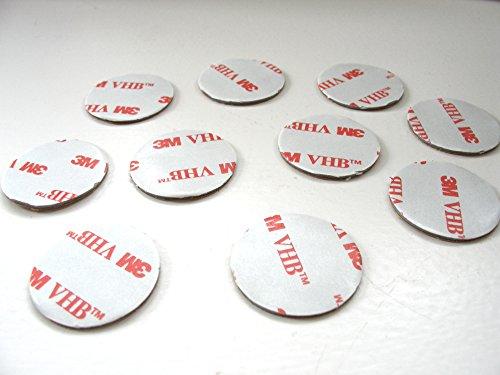 3-m-vhb-rp45-gris-circulos-10-almohadillas-de-espuma-acrilica-cinta-50-mm-de-diametro-x-11-mm-de-gro