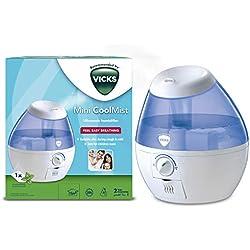 VICKS VUL520 Cool Mist Mini Humidificateur à Ultrasons