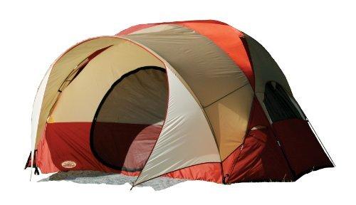 Texsport Clear Creek 3Person Vestibule Tent (Red/Tan, 8-Feet X 10-Feet X 74-inch) by Texsport